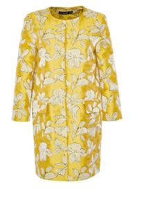 Hallhuber Egg-shaped jacquard coat