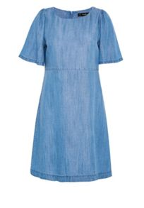 Hallhuber A-line denim dress