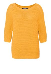 Hallhuber Tape Yarn Dolman Sleeve Jumper