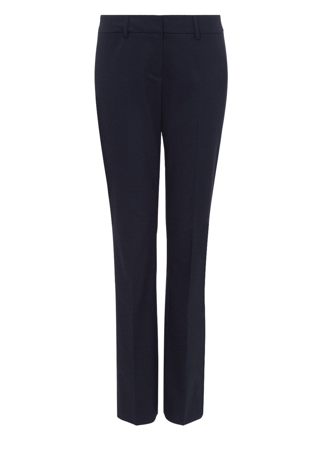 Hallhuber Women`S Trousers With Pinstripe Design