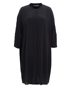 Long Blouse With Three-Quarter Sleeves