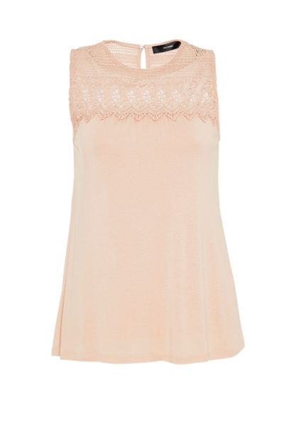 Hallhuber Lace yoke top