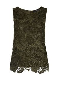 Hallhuber Floral Lace Top