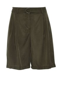 Hallhuber Pleated shorts