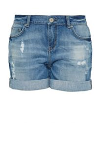 Hallhuber Sparkly denim shorts