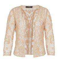 Hallhuber Sheer lace jacket