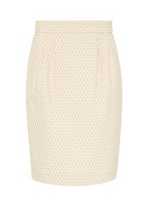 Hallhuber High-waist jacquard skirt