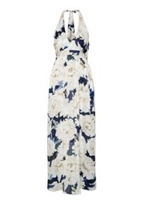 Hallhuber Floral printed silk dress