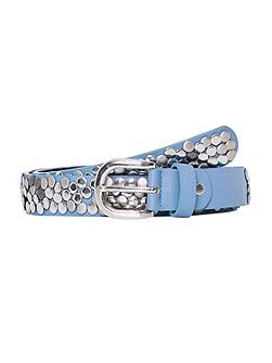 Belt With Round Stud Embellishments