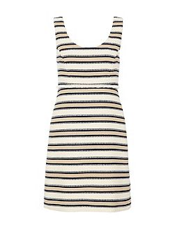 Striped strap dress