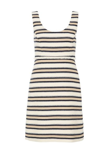 Hallhuber Striped strap dress