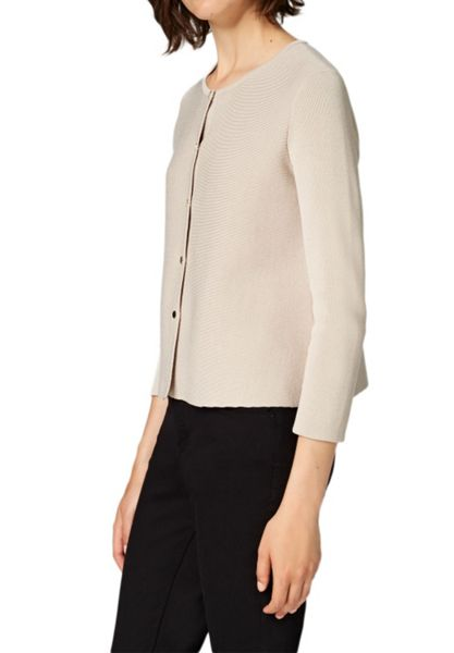 Hallhuber Cropped A-line cardigan