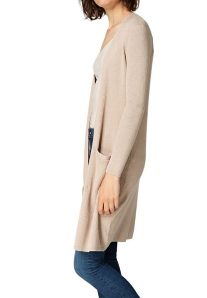 Hallhuber Long cardigan with Lurex