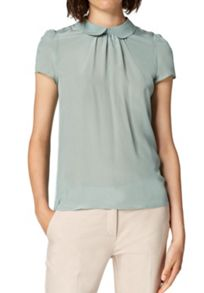 Hallhuber Round collar mix-and-match top