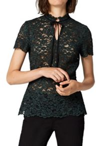 Hallhuber Peplum lace top