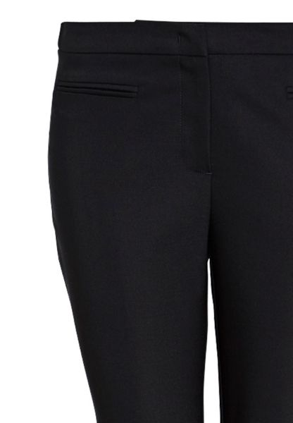 Hallhuber Cigarette trousers with piped pockets