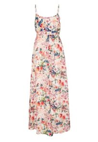 Hallhuber Maxi dress made of silk