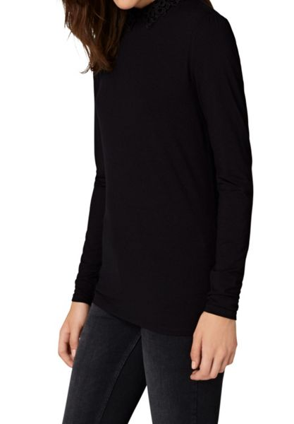 Hallhuber Lace collar long sleeve