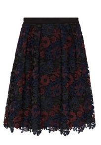 Hallhuber Multi-colour lace skirt