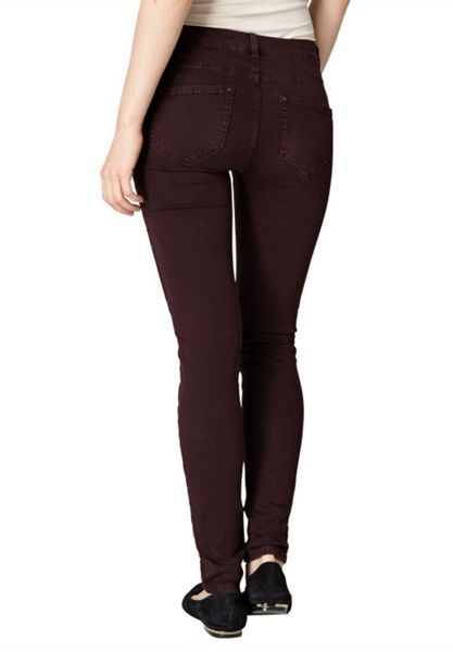 Hallhuber Skinny jeans with aged-dye effect