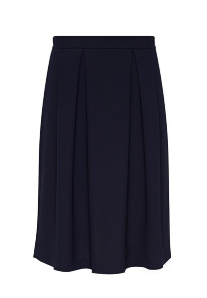 Hallhuber Midi skirt with box pleat