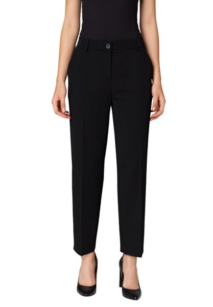 Hallhuber Cropped trousers with centre crease