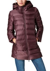 Hallhuber Cropped down coat LYNN
