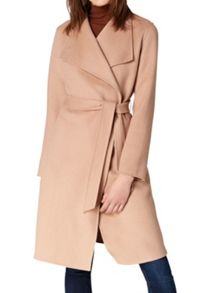 Hallhuber Chelsea Collar Wrap Coat
