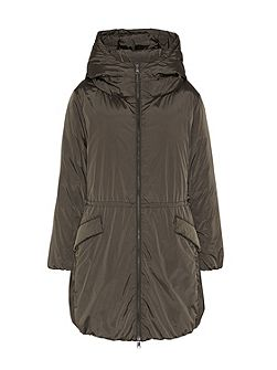 Oversized down parka