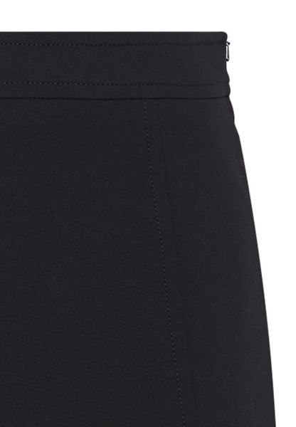 Hallhuber A-line skirt with decorative stitching