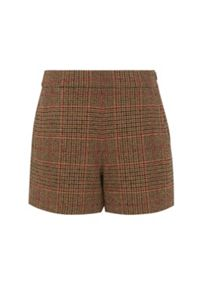 Hallhuber Glen check shorts