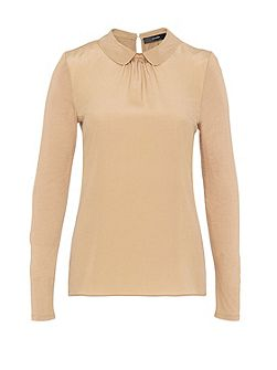 Round Collar Mix and Match Top
