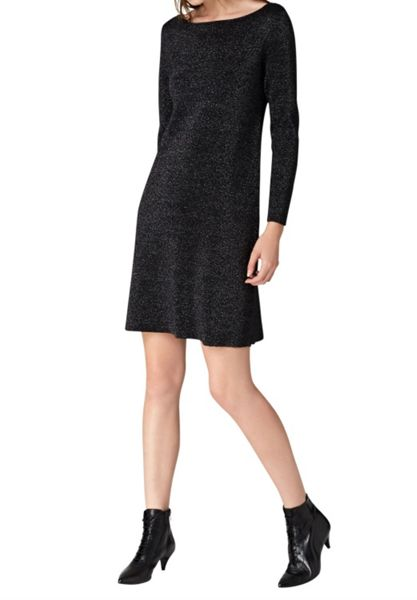 Hallhuber Knit dress with Lurex