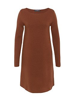 Pure Wool Knit Dress