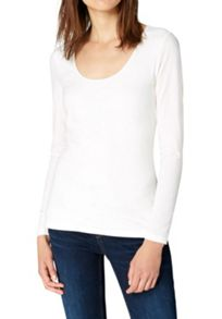 Hallhuber Round neck long sleeve