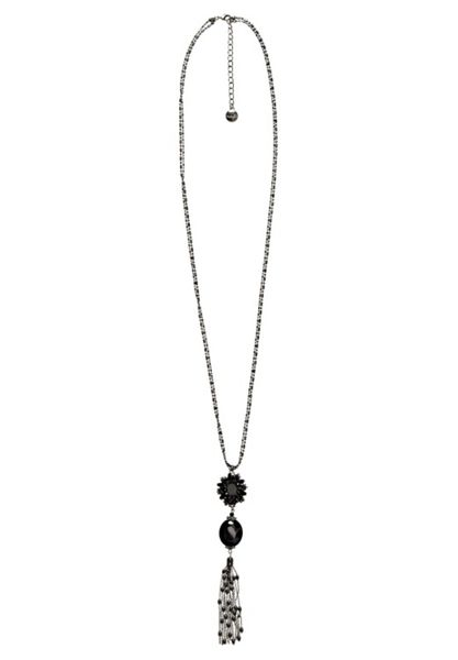 Hallhuber Long tassel necklace