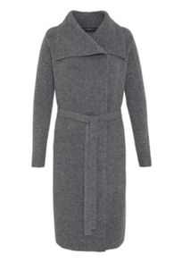 Hallhuber Knit Coat With Large Collar