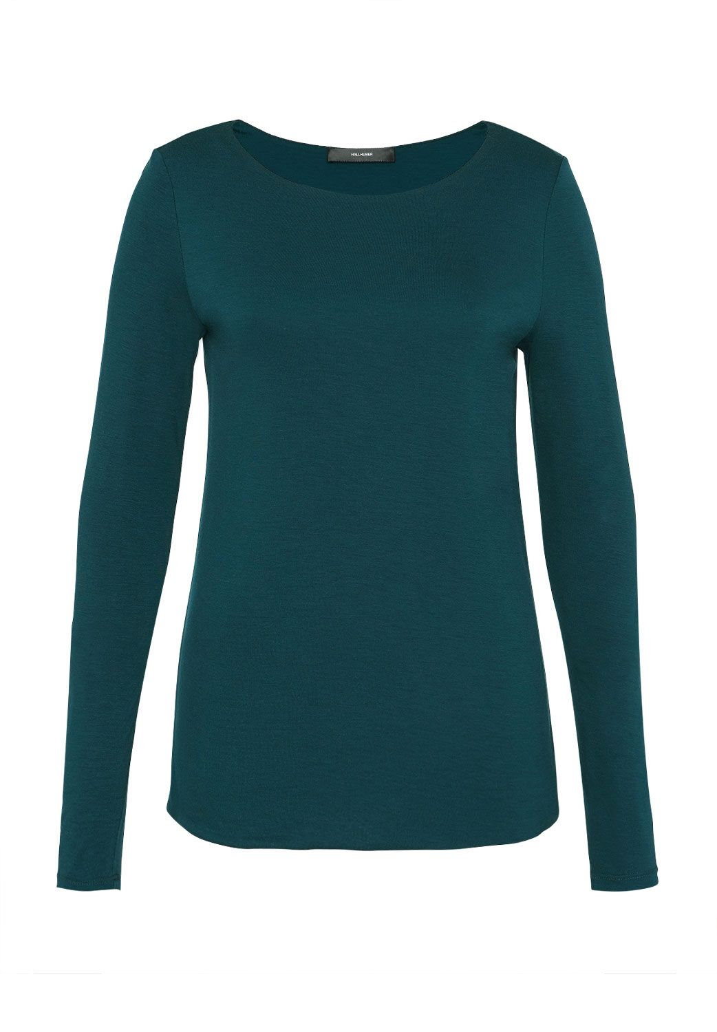 Hallhuber Hallhuber Long Sleeve with Bat Neckline, Blue