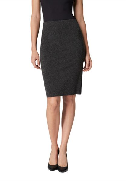 Hallhuber Jersey pencil skirt
