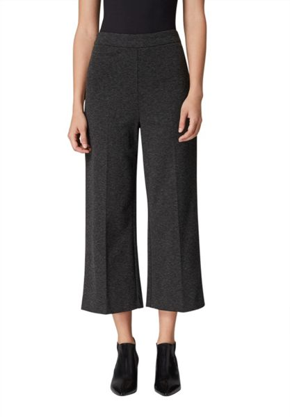 Hallhuber Jersey culottes with centre crease