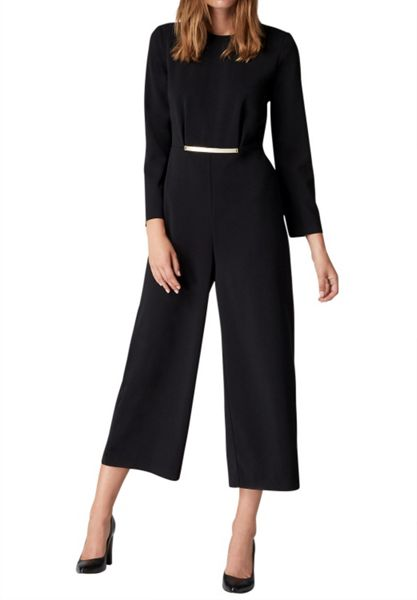 Hallhuber Culottes jumpsuit with adornment