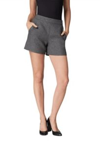 Hallhuber High-waisted shorts with slanted pockets