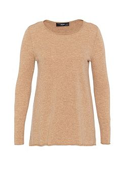 A-line wool jumper