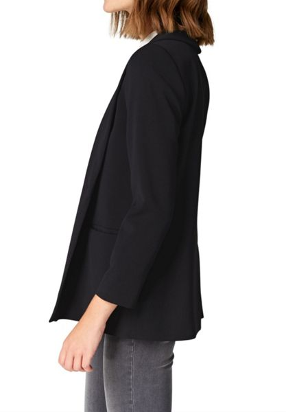 Hallhuber Boyfriend blazer with shawl collar