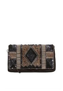 Hallhuber Lavish Embroidery Clutch