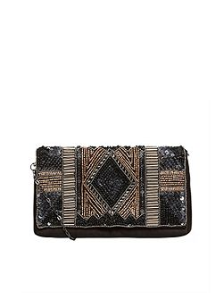 Lavish Embroidery Clutch