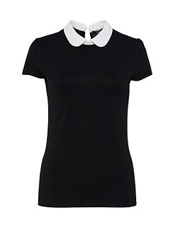 Rounded Collar Top