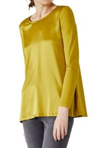 Hallhuber Swinging silk long sleeve