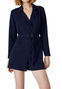 Hallhuber Playsuit with lapels