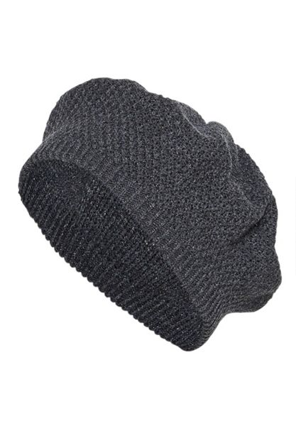 Hallhuber Knitted beret with Lurex